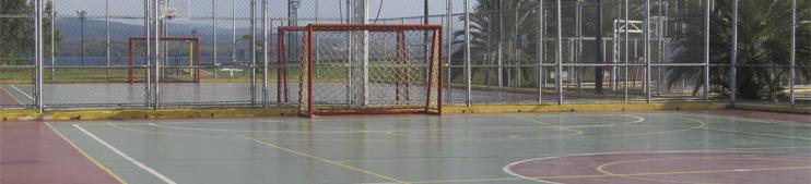 Areas deportivas - CIVG - Italo Venezolano de Guayana