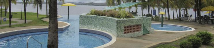 Complejo de piscicnas - CIVG - Centro Italo Venezolano Guayana