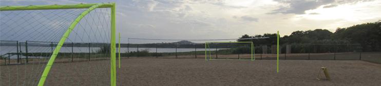 Cancha futbol playa IVG - Italo Venezolano de Guayana