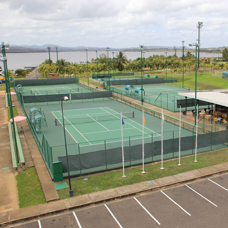 Modernización de las Canchas de Tenis (Complejo I y II)